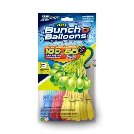 Magic Balonbalon Airmagic Water Ballons ballons 224 eau autoscellants fill tie bunch o balloons de zuru walmart canada