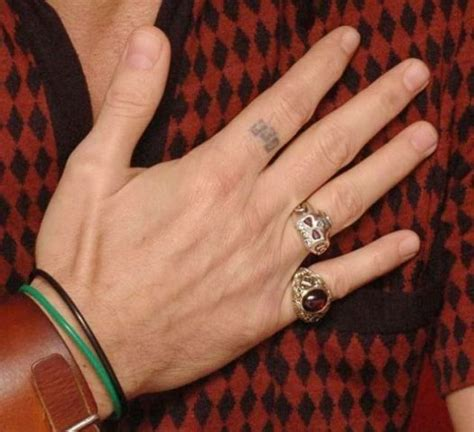 johnny depp finger tattoo ring on right meaning medium size of