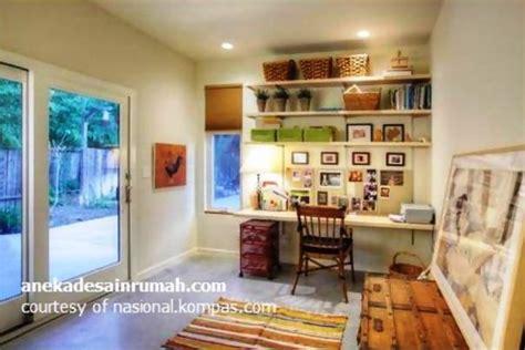 gambar ruang kerja minimalis di rumah 2 si momot