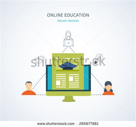 online design qualifications business concept icons infographics mockup template stock