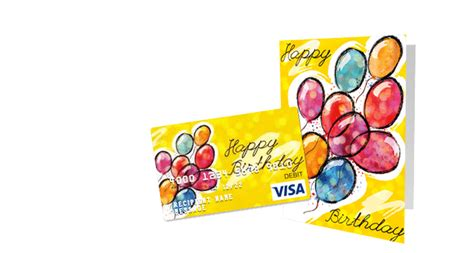Birthday Cards And Gifts - birthday gift cards customize a visa gift card giftcards com