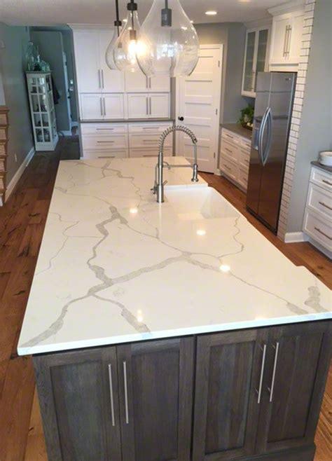 kitchen countertops quartz 38 best calacatta quartz kitchen images on