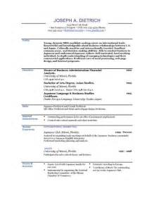 Resumes Templates Free by Free Resumes Templates Cyberuse