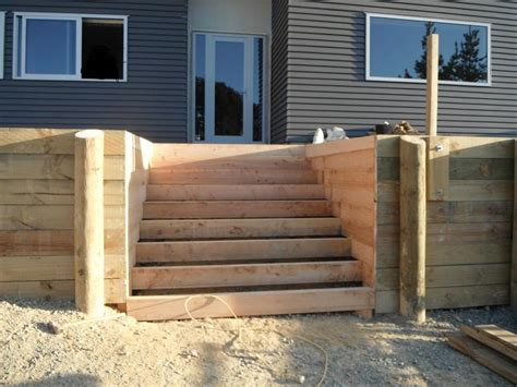 how to build a deck nz building deck stairs basic steps to follow landscape design