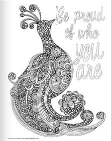 inspirational coloring pages for adults free coloring pages of inspirational quotes