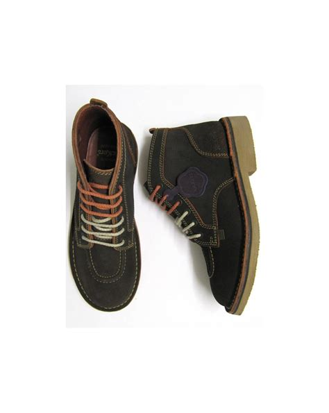 Kickers S P Brown kickers legendary boots in suede brown legendary mens