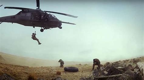 how to get your into search and rescue u s air career detail combat rescue officer