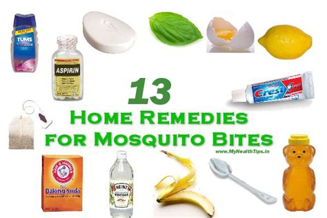 rid  mosquito bites  applying home remedies    counter medication