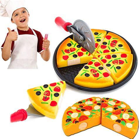 Fast Food Cutting Food child kitchen simulation pizza fast food slices