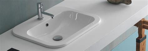 lavandini da incasso per bagno scopri i prodotti lavabi ad incasso e lavabi semincasso