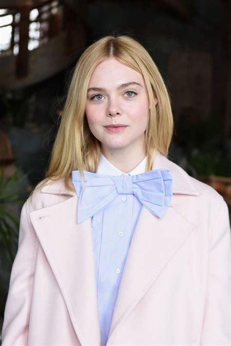 elle fanning elle fanning at glamour and girlgaze sundance lunch in