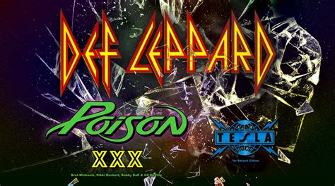 def leppard poison and tesla coming to louis june 22