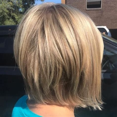 slightly layered bob 28 layered bob hairstyles so hot we want to try all of them