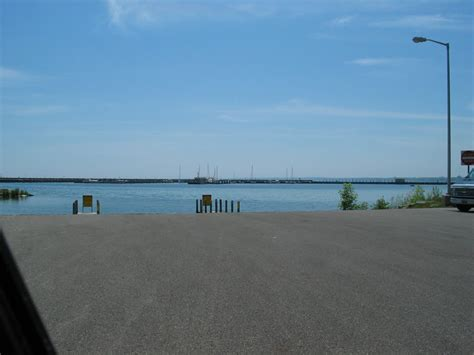 dnr boat launch east tawas dnr boat launch michigan water trails