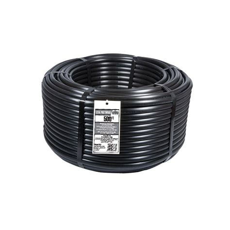 bird 1 2 in x 100 ft drip emitter tubing coil et70