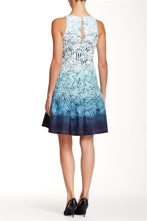 Dress Sancai Scuba Bahan Scuba Quality Fit To L maggy sleeveless ombre printed fit flare dress nordstrom rack