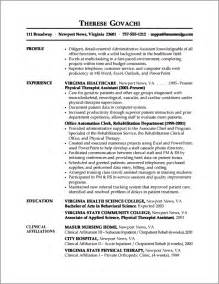 Resume Sles For Administrative Assistant by Professional Resume Exle Learn From Professional Resume Sles