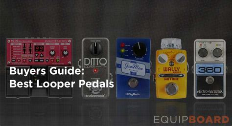 best guitar looper pedal 5 best looper pedals for guitar equipboard 174