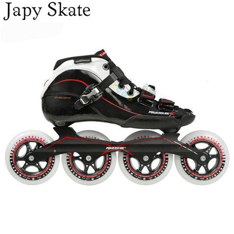 Inline Skate Power Aosite aliexpress buy japy skate 100 original powerslide skate x carbon fiber speed inline