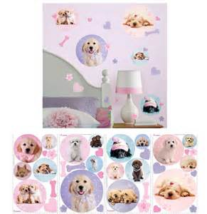 Puppy Wall Stickers puppy spots peel and stick wall decals wall sticker outlet