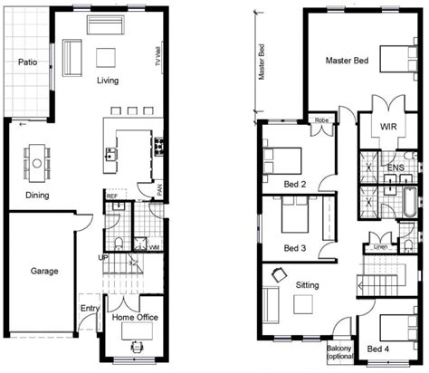 five bedroom floor plans house plan 5 bedroom house plans australia two storey