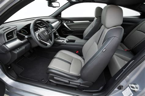 2016 honda civic coupe interior cabin the news wheel