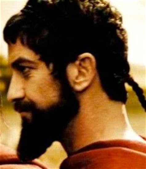 spartan hairstyle king leonidas barbudos pinterest search chang e 3