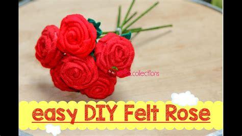 tutorial membuat video vine easy diy felt rose tutorial tutorial membuat mawar dari