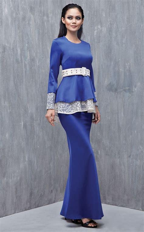 Baju Kurung Pahang Royal Blue 92 best baju raya 2016 buy baju kurung moden emel by melinda looi x clpts lookbook images on