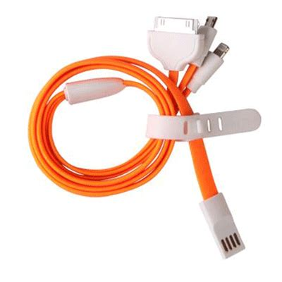 Multifunction 4 In 1 Usb Charging Cable Micro Usb Samsungapple taffware multifunction 4 in 1 usb charging cable micro usb samsung apple 30 pin and apple