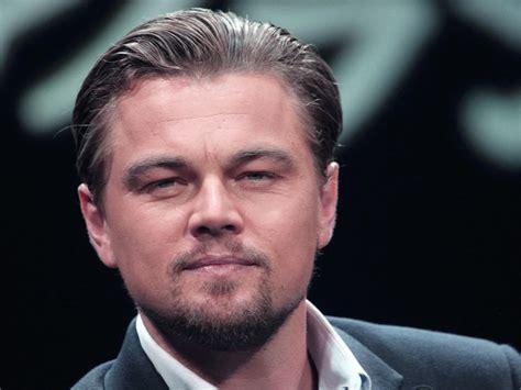 round face male celebrities biografia di leonardo dicaprio