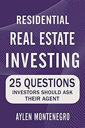 investor faq should i become a real estate agent residential real estate investing 25 questions investors