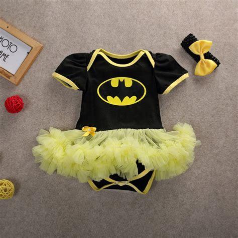 Romper Batman 1 Set newborn infant baby batman clothes romper tutu