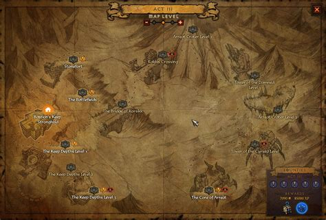 d3 world map towns to see on new diablo 3 waypoint map