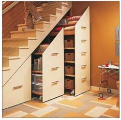 storage  stairs woodworking plans  information