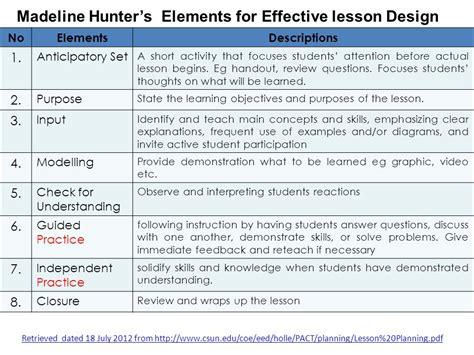design elements lesson plan instructional lesson design models ppt video online download