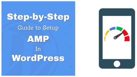 a step by step guide to set up your brand s youtube step by step guide to set up accelerated mobile pages in