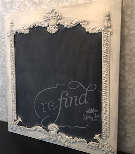 Turn Any Scrap Of Wood Into A Chalkboard Kerry Leigh Co