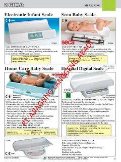 Timbangan Digital Seca distributor alat kesehatan instrument merk pms dari