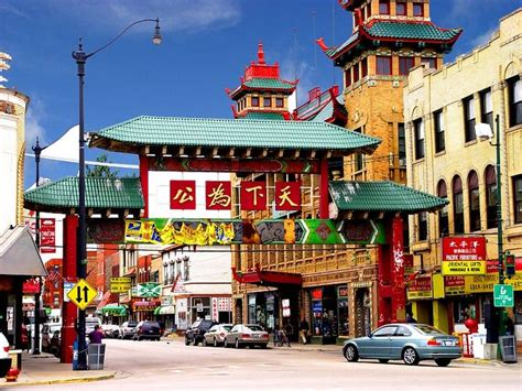 new year in chinatown chicago chinatown gate chicago attractions