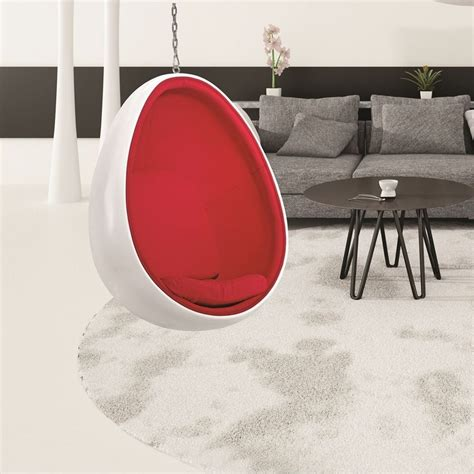 Clear Hanging Egg Chair Furniture Fancy Home Furniture Designs Using A Rounded