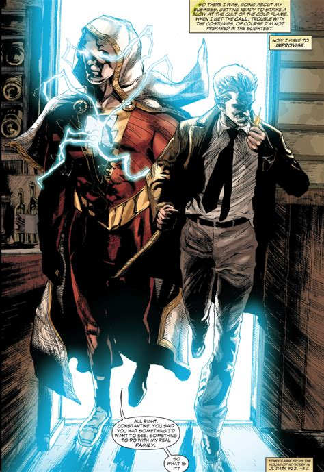 justice league dark movie to tie in to man of steel geek constantine 5 stealing the power of shazam trinity war
