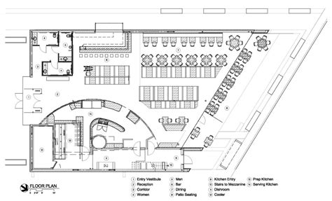Parliament House Floor Plan by Gallery Of Cafe 501 Elliott Associates Architects 20