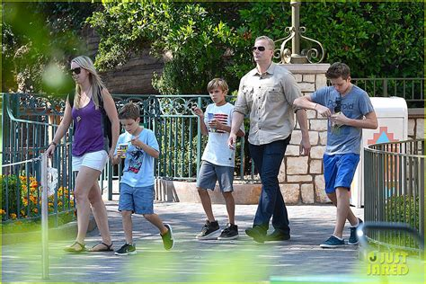 Paparazzi Make Romeo Beckham Cry At Disneyland by David Beckham Disneyland Family Trip Photo