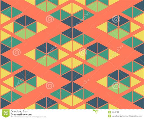 pattern in blue color geometric green yellow blue orange color pattern