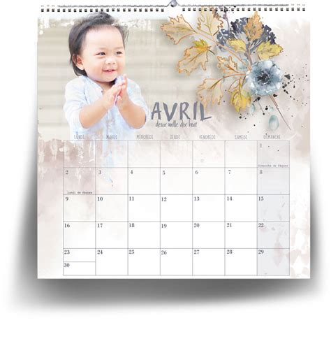 make my own calendar 2018 scrapsimple embellishment template make your own