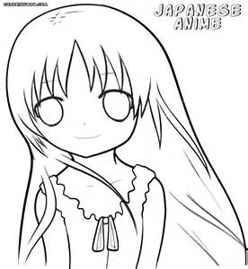 anime coloring sheets japanese anime coloring pages coloring pages to