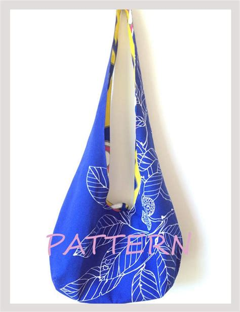 gym tote bag pattern hobo bag pattern reversible cross body bag sewing pattern
