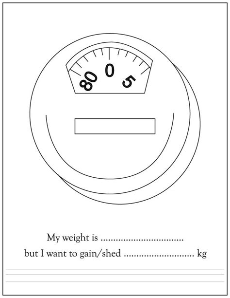 weighing scale template weight scale coloring pages printable coloring pages for