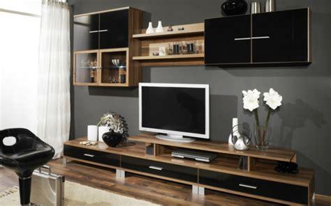 meuble de salon en bois le meuble tv design et style pour l int 233 rieur archzine fr